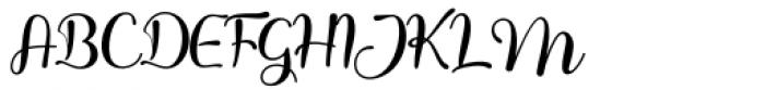 Honey Batter Regular Font UPPERCASE