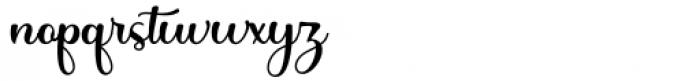 Honey Batter Regular Font LOWERCASE