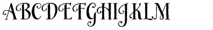 Honey Bee Basic Font UPPERCASE