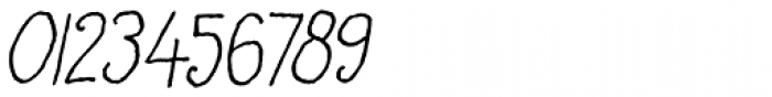 Honey Dew Italic Font OTHER CHARS