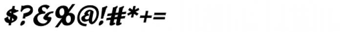 HoneyMead BB Bold Italic Font OTHER CHARS
