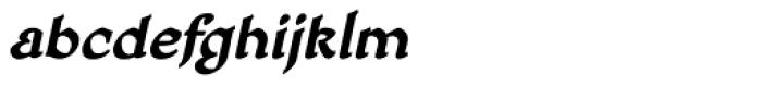 HoneyMead BB Bold Italic Font LOWERCASE