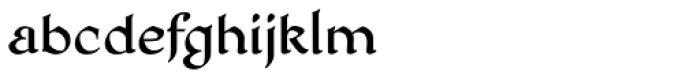 HoneyMead BB Font LOWERCASE
