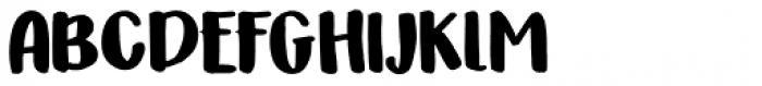 Honeyguide Caps Font UPPERCASE
