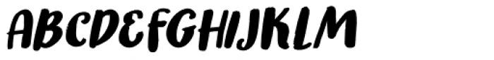 Honeyguide Italic Font UPPERCASE
