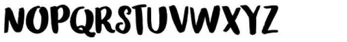 Honeyguide Font UPPERCASE