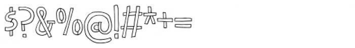 Honeypunch Regular Font OTHER CHARS