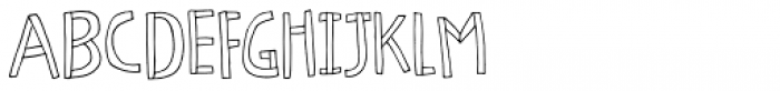 Honeypunch Regular Font UPPERCASE