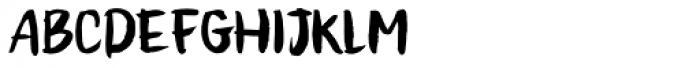 Honeyvoid Font UPPERCASE