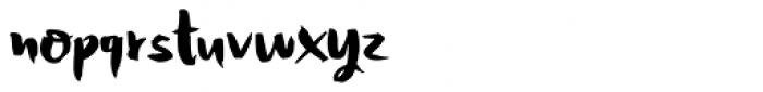 Honeyvoid Font LOWERCASE