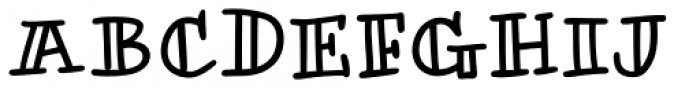 Honolulu Jumpy Font UPPERCASE