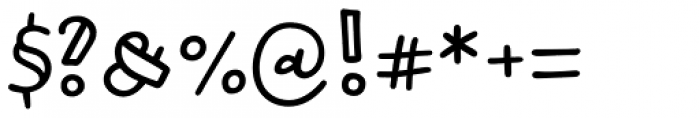 Honolulu Sans Jumpy Font OTHER CHARS