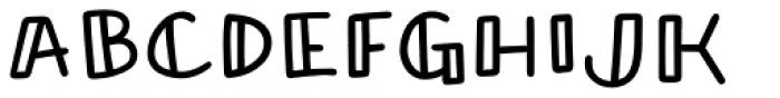 Honolulu Sans Jumpy Font LOWERCASE