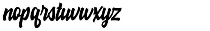 Hoodson Regular Font LOWERCASE