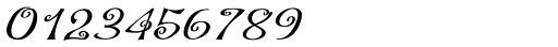 Hoof Brush Spiral Oblique Font OTHER CHARS