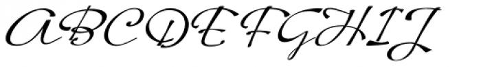 Hoof Brush Swing Font UPPERCASE