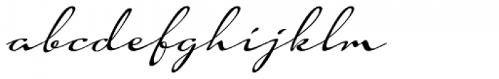 Hoof Brush Swing Font LOWERCASE