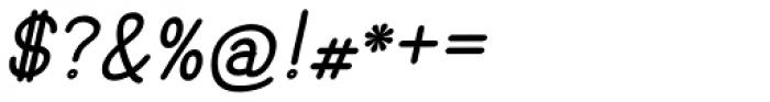 Hoof Sans Black Oblique Font OTHER CHARS