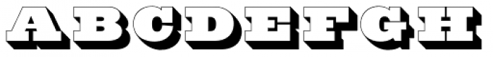 Hoosier Daddy Font LOWERCASE