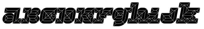 Hopeless Diamond A Italic Alt Font LOWERCASE