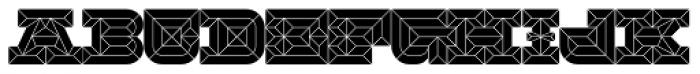 Hopeless Diamond A Font UPPERCASE