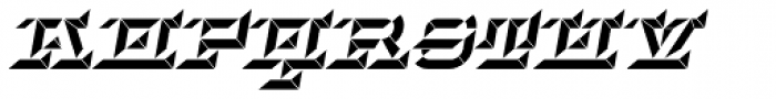 Hopeless Diamond B Italic Alt Font UPPERCASE
