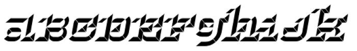 Hopeless Diamond B Italic Alt Font LOWERCASE