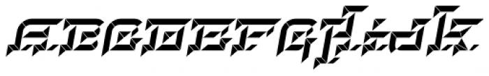 Hopeless Diamond C Italic Alt Font UPPERCASE