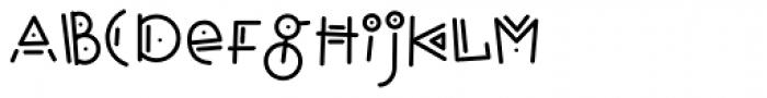 Hopscotch Font LOWERCASE
