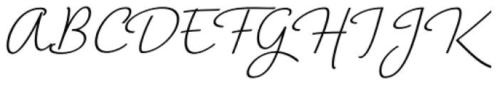 Horizontes Script Bold Font UPPERCASE