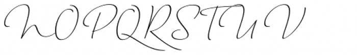 Horizontes Script Font UPPERCASE