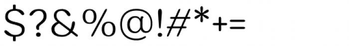 Hornbill Light Font OTHER CHARS