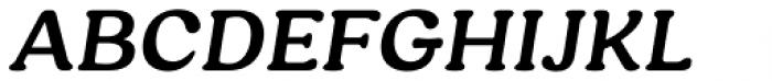 Hornbill Semi Bold Italic Font UPPERCASE