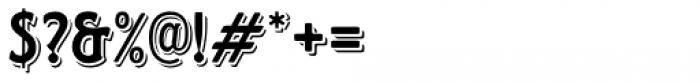 Horndon Regular Font OTHER CHARS