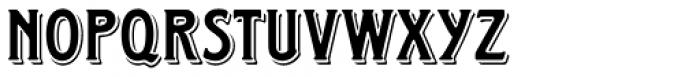 Horndon Regular Font UPPERCASE