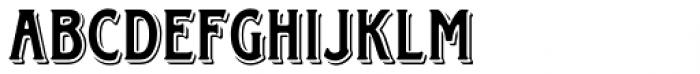 Horndon Regular Font LOWERCASE