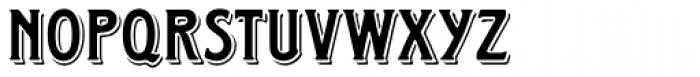 Horndon Font UPPERCASE