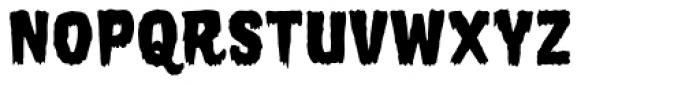 Horror Show Bold Font LOWERCASE