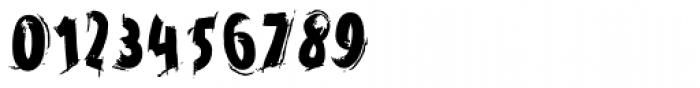 Horrorama Regular Font OTHER CHARS