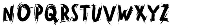Horrorama Regular Font UPPERCASE
