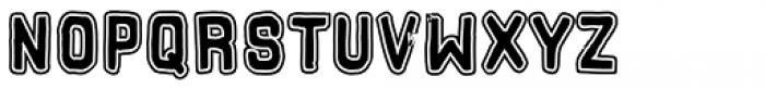 Hors Obvodka Font UPPERCASE