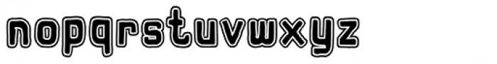 Hors Obvodka Font LOWERCASE