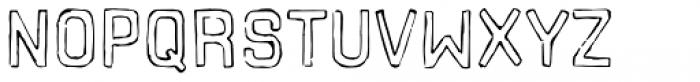 Hors Font UPPERCASE