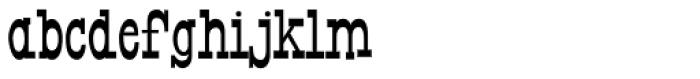 Horse Puckey JNL Font LOWERCASE