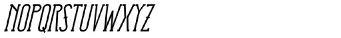 HorseFace Bold Oblique Font UPPERCASE