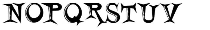 Horsefeathers Buzzsaw Font UPPERCASE