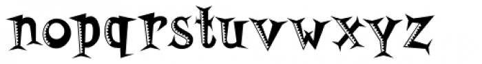 Horsefeathers Buzzsaw Font LOWERCASE
