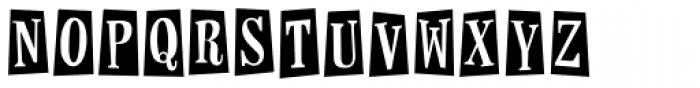 Horseshoes And Lemonade Font LOWERCASE