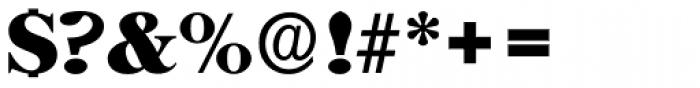 Horsham Serial ExtraBold Font OTHER CHARS