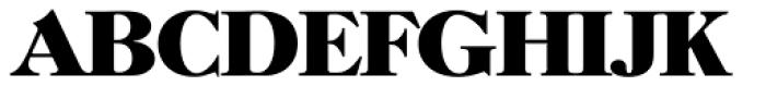 Horsham Serial ExtraBold Font UPPERCASE